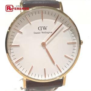Daniel Wellington ダニエルウェリントン 0507DW レディース腕時計 腕時計 ゴールド ユニセックス 【中古】|reference