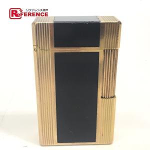 Dupont デュポン ライン1L ガスライター 都彭 ライター ゴールド ユニセックス 【中古】|reference