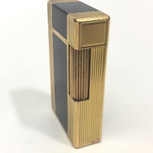 Dupont デュポン ライン1L ガスライター 都彭 ライター ゴールド ユニセックス 【中古】|reference|02