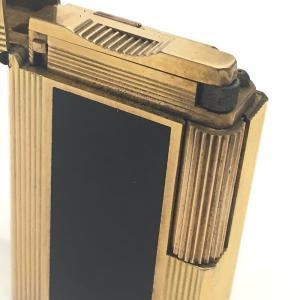Dupont デュポン ライン1L ガスライター 都彭 ライター ゴールド ユニセックス 【中古】|reference|07