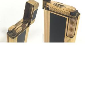 Dupont デュポン ライン1L ガスライター 都彭 ライター ゴールド ユニセックス 【中古】|reference|08