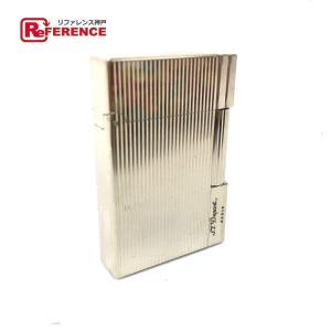 S.T.Dupont エス・テー・デュポン ギャッツビー 喫煙具 ライター シルバー メンズ 【中古】|reference