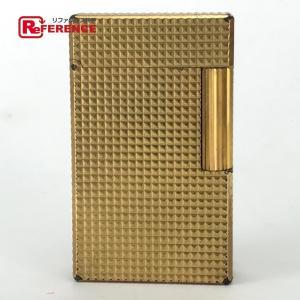 S.T.Dupont エス・テー・デュポン ライン1L  ライター ゴールド メンズ 【中古】|reference
