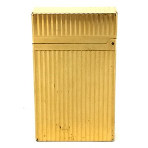 S.T.Dupont エス・テー・デュポン 16827 ライン2(モンパルナス) ライター ゴールド ユニセックス 【中古】|reference|02