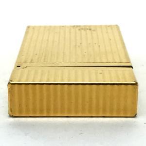 S.T.Dupont エス・テー・デュポン 16827 ライン2(モンパルナス) ライター ゴールド ユニセックス 【中古】|reference|05