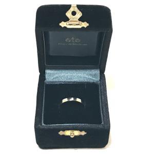 ete エテ コンビ アクセサリー 小物 リング・指輪 ダイヤモンド 9号 ゴールド×シルバー レディース 【中古】|reference|05