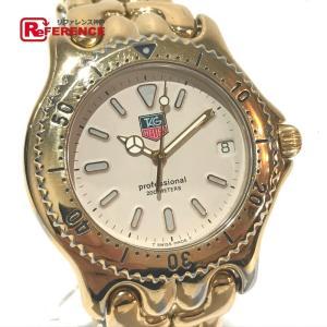 TAG HEUER タグホイヤー S94.006 セルシリーズ デイト 腕時計 ゴールド メンズ 【中古】 reference