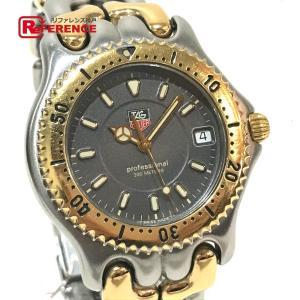 TAG HEUER タグホイヤー WG1120-0 セル プロフェッショナル デイト 腕時計 シルバー ボーイズ 【中古】 reference