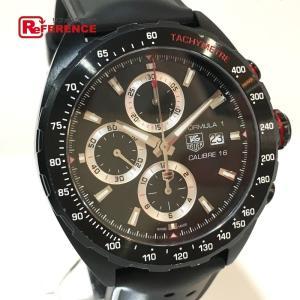 TAG HEUER タグホイヤー CAZ2011.FT8024 フォーミュラ1  キャリバー16 クロノグラフ 腕時計 ブラック メンズ 【中古】 reference