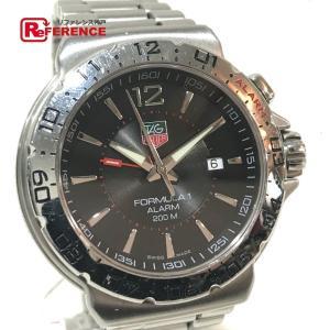 TAG HEUER タグホイヤー WAC111A フォーミュラ1 アラーム デイト 腕時計 シルバー メンズ 【中古】 reference