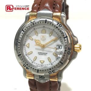 TAG HEUER タグホイヤー WH1251-K1 6000シリーズ コンビ 腕時計 シルバー×ゴールド ボーイズ 【中古】 reference