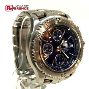 TAG HEUER タグホイヤー CT2110 リンク クロノグラフ 腕時計 シルバー メンズ 【中古】 reference