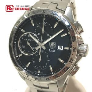 TAG HEUER タグホイヤー CAT2010 リンク クロノグラフ 腕時計 シルバー メンズ  新品同様【中古】 reference