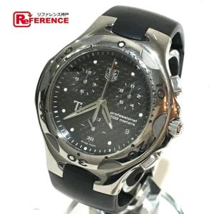 TAG HEUER タグホイヤー CL1181 キリウム クロノグラフ 腕時計 シルバー×ブラック メンズ 【中古】 reference