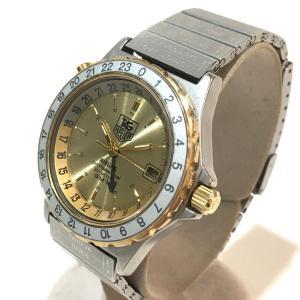 TAG HEUER タグホイヤー 895.413 エアラインGMT  デイト プロフェッショナル 腕時計 シルバー メンズ 【中古】|reference|02