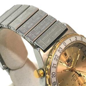 TAG HEUER タグホイヤー 895.413 エアラインGMT  デイト プロフェッショナル 腕時計 シルバー メンズ 【中古】|reference|03