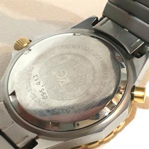 TAG HEUER タグホイヤー 895.413 エアラインGMT  デイト プロフェッショナル 腕時計 シルバー メンズ 【中古】|reference|06