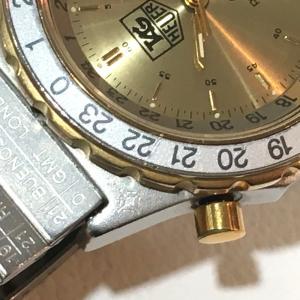 TAG HEUER タグホイヤー 895.413 エアラインGMT  デイト プロフェッショナル 腕時計 シルバー メンズ 【中古】|reference|07