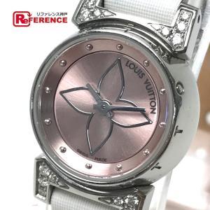 LOUIS VUITTON ルイ・ヴィトン  Q151P レディース腕時計 タンブール ビジュ ラグ...