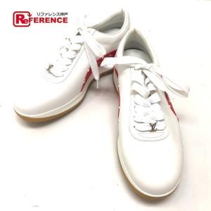 LOUIS VUITTON ルイ・ヴィトン 1A3EQ5 シューズ 靴 シュプリーム supreme モノグラム スニーカー ホワイト メンズ 【新品】|reference