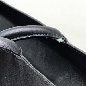 Salvatore Ferragamo サルヴァトーレフェラガモ A4サイズ収納可 メンズ レディース トートバッグ ブラック ユニセックス 【中古】|reference|08