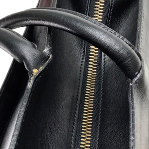 Salvatore Ferragamo サルヴァトーレフェラガモ A4サイズ収納可 メンズ レディース トートバッグ ブラック ユニセックス 【中古】|reference|09