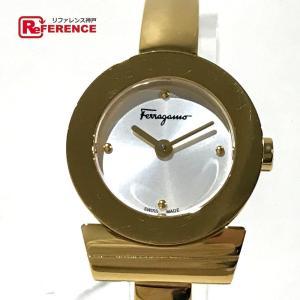 82b8f94ebb Salvatore Ferragamo サルヴァトーレフェラガモ レディース腕時計 ガンチーニ 腕時計 ゴールド レディース 【中古】