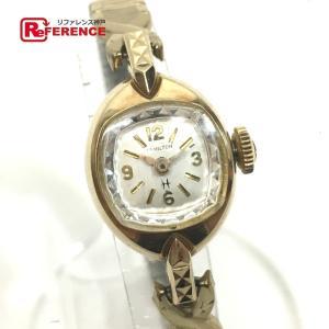 HAMILTON ハミルトン 腕時計 ゴールド レディース ...
