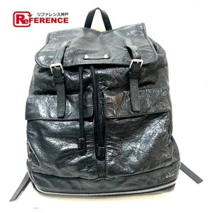 BALENCIAGA バレンシアガ 298114 リュックサック バックパック リュック・デイパック ブラック ユニセックス 【中古】|reference