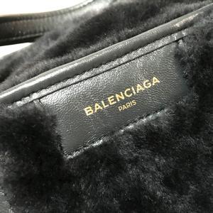 BALENCIAGA バレンシアガ 443096 バザールショッパー トートバッグ ブラック レディース 【中古】|reference|07