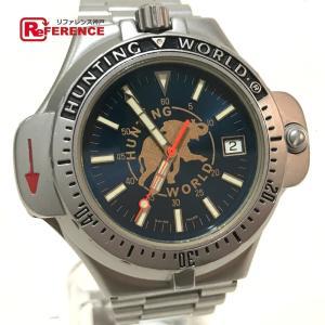 HUNTING WORLD ハンティングワールド CW-17740 コンパスウォッチ SPORT ABOUT 腕時計 シルバー メンズ 【中古】|reference