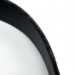 MIUMIU ミュウミュウ パイソン型押し ベルト パープル レディース 【中古】|reference|07
