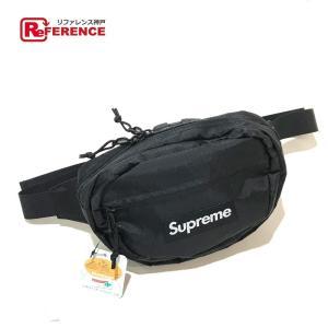 Supreme シュプリーム ウエストバック ロゴ ボディバッグ ブラック メンズ  未使用【中古】|reference