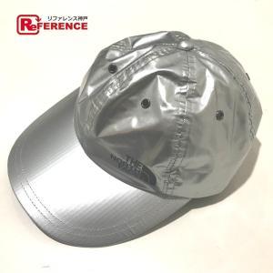 Supreme シュプリーム キャップ帽 メンズ レディース 帽子 シルバー  新品同様【中古】 reference