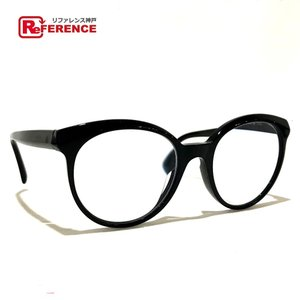 CHANEL シャネル バタフライ シェイプ レディース 小物 眼鏡 ブラック レディース 【中古】|reference