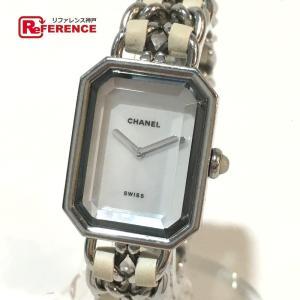 5fc9d3d924 CHANEL シャネル H1639 プルミエール 腕時計 シルバー レディース 【中古】