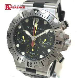 BVLGARI ブルガリ SC40S スクーバ ディアゴノ オートマチック 腕時計 シルバー メンズ 【中古】|reference