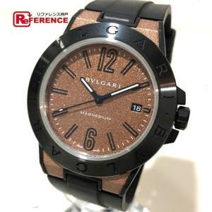 BVLGARI ブルガリ DG41SMC ディアゴノ メンズ腕時計 腕時計 ブラック メンズ 【中古】 reference