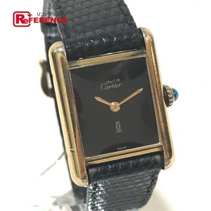 CARTIER カルティエ マストタンク ヴェルメイユ 腕時計 ゴールド レディース 【中古】|reference