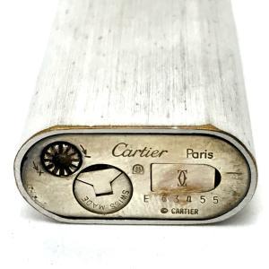 CARTIER カルティエ トリニティ  メンズ レディース ライター マットシルバー ユニセックス 【中古】 reference 06