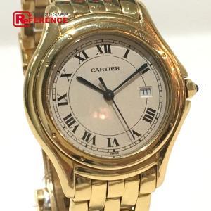 CARTIER カルティエ クーガーLM パンテール  腕時計 イエローゴールド メンズ 【中古】|reference