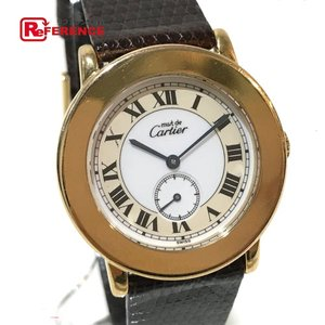 CARTIER カルティエ 1810 1 マスト2 ロンド ヴェルメイユ 腕時計 ゴールド メンズ 【中古】|reference
