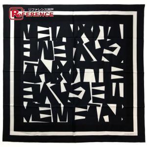 BOTTEGA VENETA ボッテガヴェネタ ユニフォーム スカーフ ブラック ユニセックス 【中古】|reference