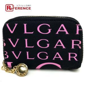 BVLGARI ブルガリ 20660 ロゴマニア コインケース ピンク ユニセックス 【中古】 reference