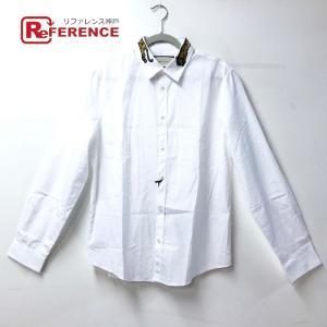 GUCCI グッチ  456706 Yシャツ トップス  ワイシャツ タイガー アップリケ DUKE...