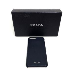 PRADA プラダ iPhoneケース ネイビー 【中古】|reference|03