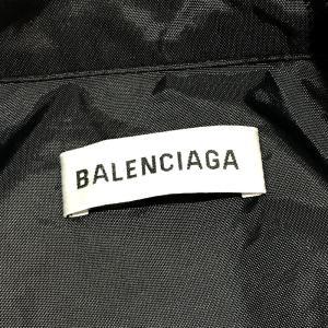 BALENCIAGA バレンシアガ 529213 TBQ03 タグ有 ロゴ ナイロンジャケット ブラック×ホワイト レディース 【中古】|reference|04