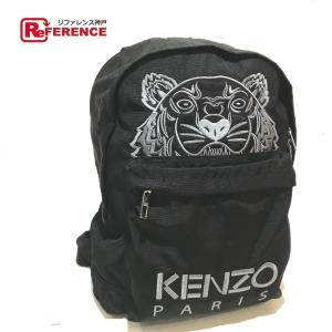 KENZO ケンゾー タイガー リュックサック バックパック リュック・デイパック ブラック ユニセックス  新品同様【中古】|reference