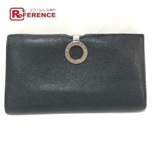 BVLGARI ブルガリ 33745 ブルガリブルガリ 長財布(小銭入れあり) ブラック メンズ 【中古】|reference
