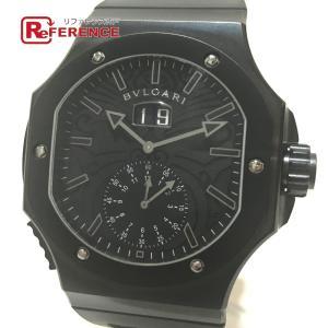 BVLGARI ブルガリ BRE56BSBLDCHS/AB ダニエル ロート アンデュレ クロノスプリント 腕時計 ブラック メンズ 【中古】|reference